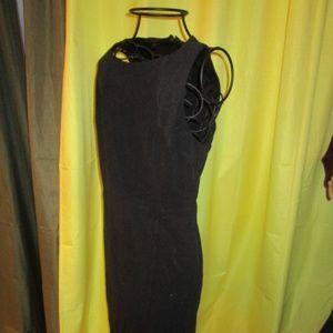 *SALE* Metaphor Sheath Black dress